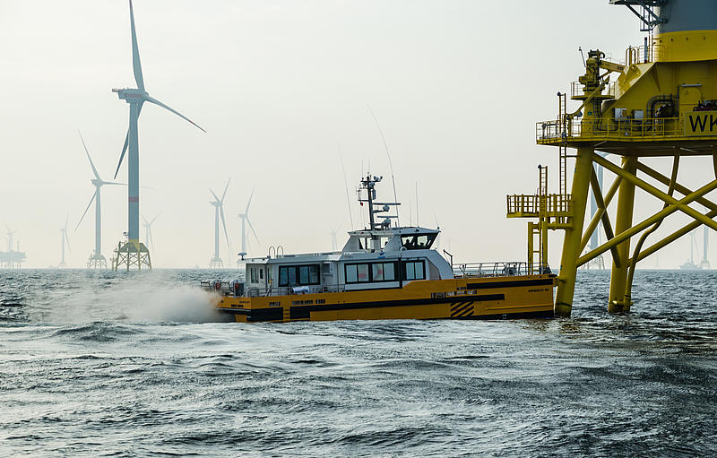 FRS Windcat Offshore Logistics Windcat 40.