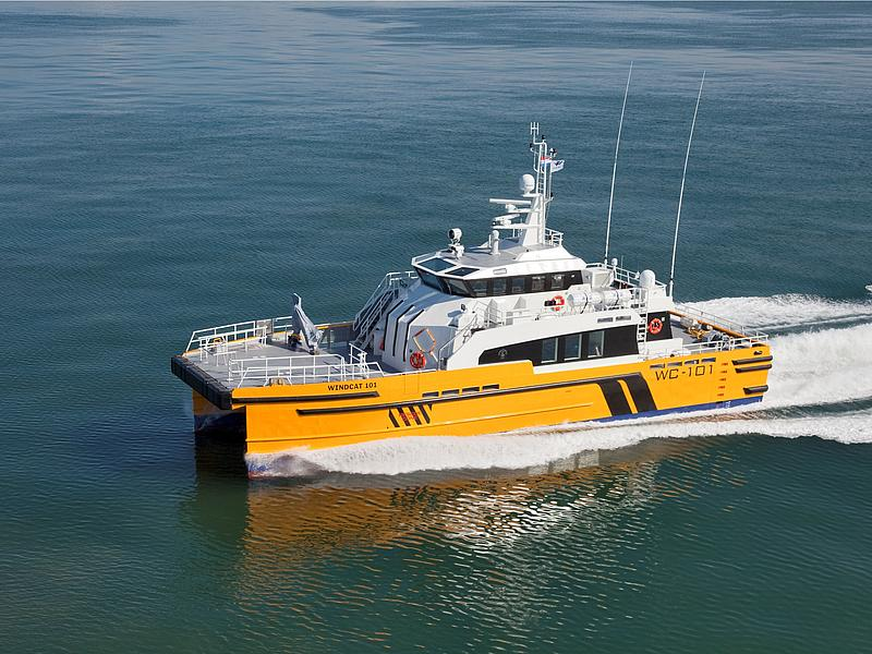 FRS Windcat Offshore Logistics Windcat 101.